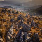 Vista de Jaén desde el refugio de La Mella