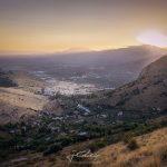 Panoramica de Jaén desde la ladera de La Mella